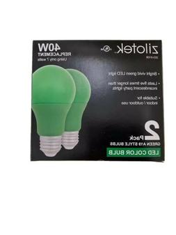 NEW Green LED Light Bulb 7 watt  Indoor/Outdoor