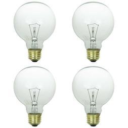25 Watt G25 Clear Decorative Globe Medium Base Light Bulbs