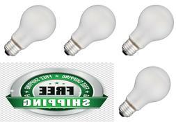 Incandescent Light Bulbs 75 Watt Frosted 750 Lumens Heavy Du