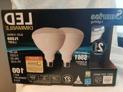 4 pack BR40 LED 11W 2700K Warm White Indoor/Outdoor Flood Li