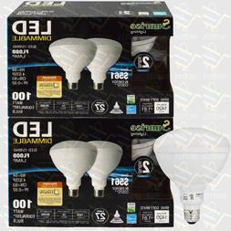 4 pack BR40 LED 15W 2700K Warm White Indoor/Outdoor Flood Li