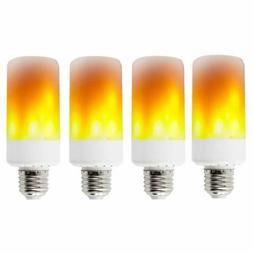 4 pack e27 led flame effect fire