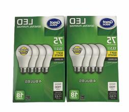 Great Value LED A19 60W Equivalent Uses Only 9W Non-Dimmabl