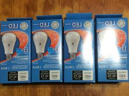 4 pack GE LED 40 Watt Light Bulbs A19 Dimmable daylight 5000