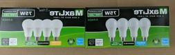 4 Pack Maxlite LED Light Bulbs 10W A19 75W Replacement Dayli