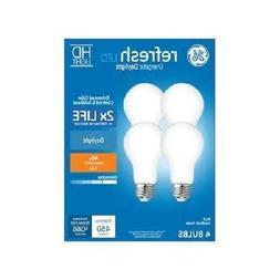 GE 4-Pack REFRESH HD Daylight 40W / 40 WATT A19 Dimmable LED