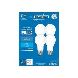 GE 4-Pack REFRESH HD Daylight 60W / 60 WATT A19 Dimmable LED