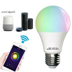 3 Pack - Smart Light Bulb, Wifi Light Bulb Color Changing LE