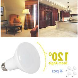 4 Pcs 11W BR30 LED Light Bulbs 3000K Dimmable E26 Energy Sav