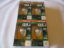 4 Sylvania Ultra LED 25w, 250 Lumens, Soft White Light Bulbs