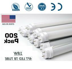 40-100X LED G13 4FT 4 Foot T8 Tube Light Bulbs 6000K 5000K 1