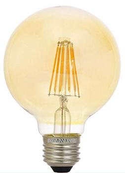 SYLVANIA 40126 Vintage LED Light Bulb, Efficient 4.5 Watts,