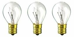 CEC Industries #40S-11 N 120V Bulbs, 120 V, 40 W, E17 Base,