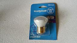 WESTINGHOUSE 40W BULB,040040,R14,120V Selling by the box,the