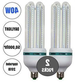 40W LED Corn Light Bulb Daylight 6500k Super Bright 400 Watt