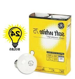 GE 41032 Standard Light Incandescent Bulbs E26 Base 75 W