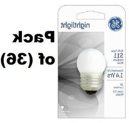 GE 41267 Nightlight Incandescent Bulb S11 Medium Screw  120V