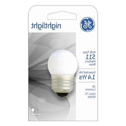 GE Lighting 41267 7.5-Watt Nightlight, Soft White, S11 1CD L