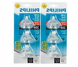 Philips 415687 Indoor Flood 20-Watt MR16 12-Volt Light Bulbs