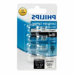Philips 416024 Landscape Lighting 18 Watt T5 12V Light Bulbs