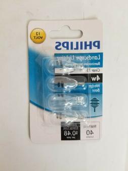 Philips 416032 Landscape Lighting 4-Watt T5 12-Volt Wedge Ba