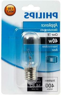 Philips Appliance T8 Light Bulb: 40-Watt, Intermediate Base