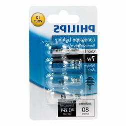Philips 416957 Landscape Lighting 7-Watt T5 12-Volt Wedge Ba