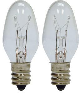 GE Lighting 43050 4-Watt 14-Lumen C7 Night Light Bulb, Clear