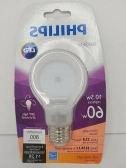 Philips 433227 60 Watt Equivalent SlimStyle A19 LED Light Bu