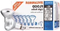 45 Watts, 295 lumens on 130 volt circuits, when used on 120