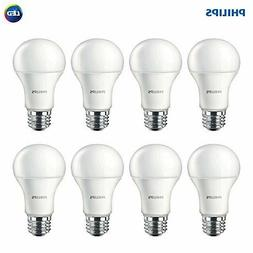 Philips 461961 LED Non-Dimmable A19 Frosted Light Bulb: 1500