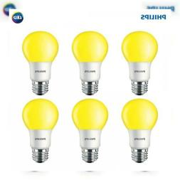 Philips LED 463190 60 Watt Equivalent Yellow A19 Bug Light B