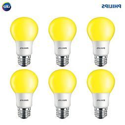 Philips LED 463190 60 Watt Equivalent Yellow A19 LED Bug Lig