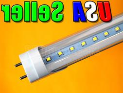 "48"" 18W 4 Ft Pure White LED T8 Fluorescent Replacement Tube"