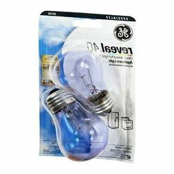 New Ge Lighting 48706 40-Watt Reveal A15 Appliance Bulb 2-Ca