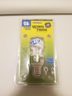 GE 49906 FLE10HLX/2/SW/CD 10 WATT  2700K SCREW BASE CFL LAMP