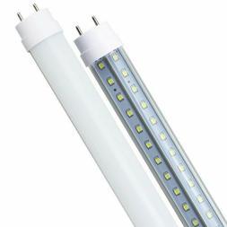 4Pcs 36W 4ft T8 G13 Dual-End Powered Bi-Pin LED Tube Light B