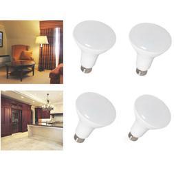 4pcs 8W Dimmable Soft White LED Light Bulbs 3000K Energy Sav