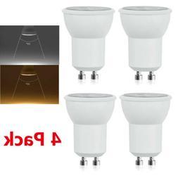 4X LED GU10 MR11 3W Light Bulbs Spotlight 25W Halogen Replac
