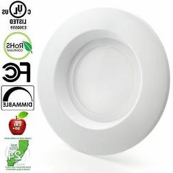 "5"" / 6"" LED Retrofit Recessed Light Fixtures  90"