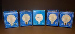 Bulbrite 60W G25 Globe130V Standard Base Light Bulb, Clear