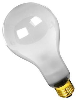 Feit Electric 50/250 50/200/250-Watt Incandescent A21 Bulb
