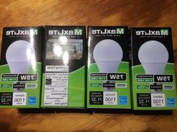 4 Pack LED 75 Watt Equivalent A type Light Bulb - Dimmable 4