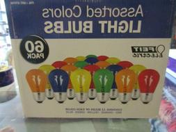 Feit Electric - 50 pack Assorted Color Light Bulbs - BULBS O