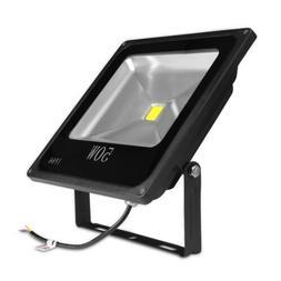 50W, 12 VDC, Outdoor LED Flood Light, Slim, Adjustable, Repl