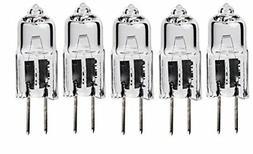 5pack - LSE Lighting G4 12V 10W Halogen Bulb JC Bi-Pin Light