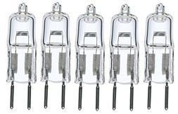 5pack - LSE Lighting G4 12V 5W Halogen Bulb JC Bi-Pin Light
