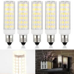 5Pack Mini E11 Base Bulb Candelabra LED Dimmable Ceiling Fan