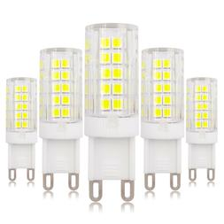 5pcs G9 Dimmable LED Light Bulb 64-2835 Lamp Ceramics Lights