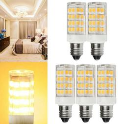 5PCS Led E11 Bulbs Dimmable Candelabra Base Mini E11 LED Bul